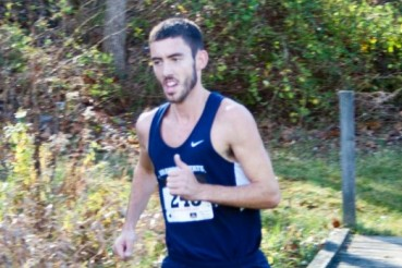 Joe Stewart crossed the finish line in 26:43 to win the 16th Annual Shawnee State Invitational