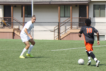 Conner Sherman scored the lone goal for SSU, who fell to the University of the Cumberlands, 2-1.