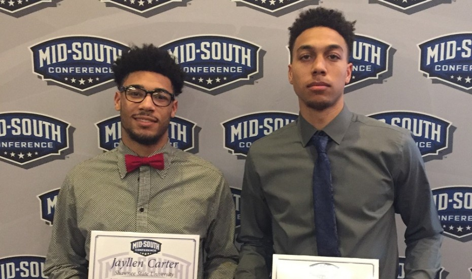 Photo for Moore, Carter earn Mid-South Conference Awards