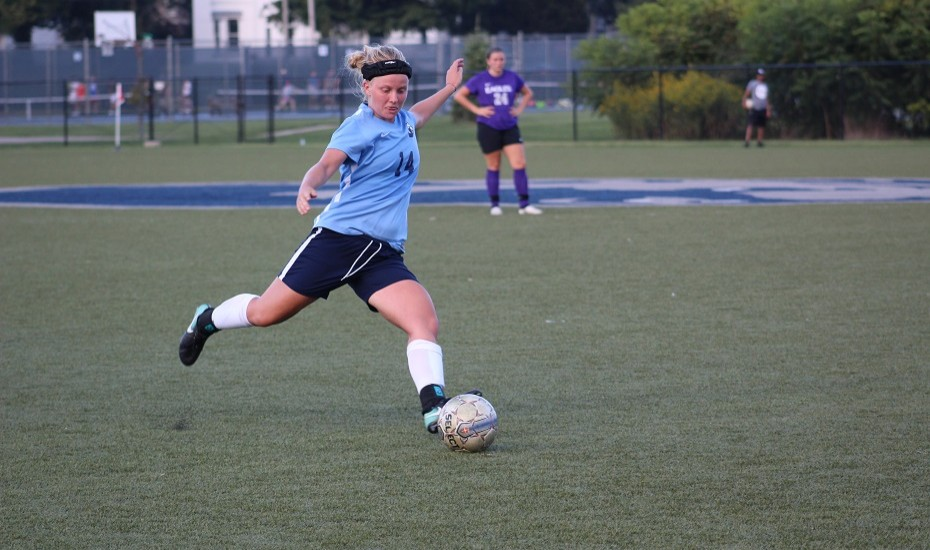 Women's Soccer routs Life 5-0