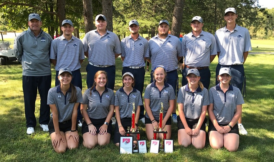Photo for Men's and Women's Golf finish second at Kentucky Christian