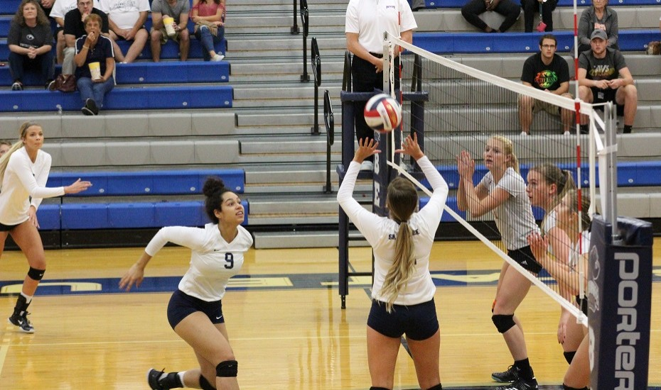 Photo for Volleyball drops last two games of Liz Lykowski Memorial